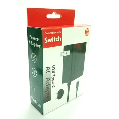 Switch變壓器/充電器 掌機/Dock底座電源/Pro手把充電 3種用途 支援15V/2.6A快充 桃園《蝦米小鋪》
