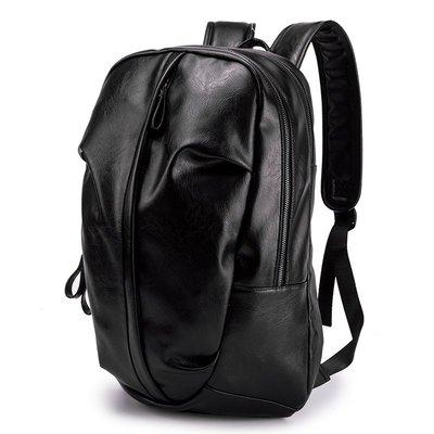 包包 雙肩包 大包 旅行包 防水包個性潮男時尚背包 韓版皮質雙肩包戶外休閑旅行背包 學生書包新款
