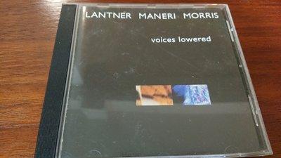 LANTNER MANERI MORRIS VOICES Lowered 經典北歐爵士發燒名盤極罕見版本