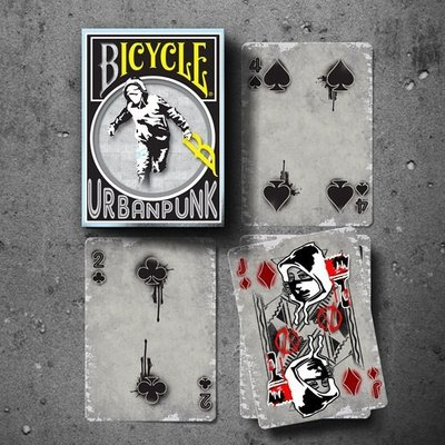 【USPCC撲克】BICYCLE URBAN PUNK 都市龐克撲克牌
