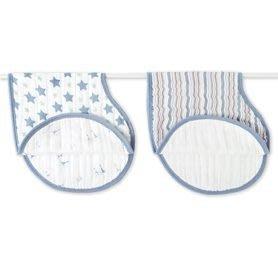 【魔法世界】美國 aden+anais 雙層細紗布打嗝巾 2入裝 小王子款