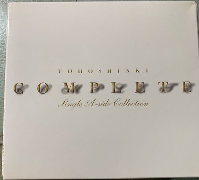 東方神起 Complete Sine A-Side Collection (全新)(3CD+3本寫真)