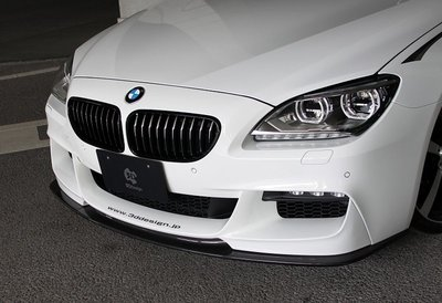 【樂駒】 3D Design BMW F06 F12 F13 Sport 前下巴 前下擾流 碳纖維 carbon 需烤漆
