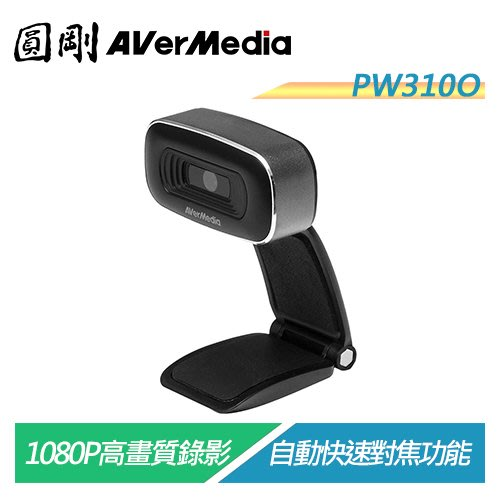 【電子超商】圓剛 PW310O 1080P高品質網路攝影機