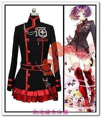 【凱迪豬生活館】動漫周邊 驅魔少年李娜麗 cosplay服裝 6件套 送卡貼KTZ-201063