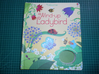 《Wind -up Ladybird 》精裝厚本 本·曼特爾 .菲奧娜·瓦特  Usborne 【CS超聖文化2讚】