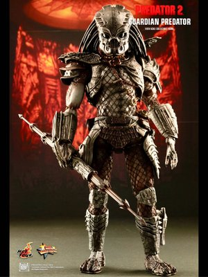 全新從未開封 Hot Toys Hottoys : Predator 2 - Guardian Predator 1/6 Collectible MMS126