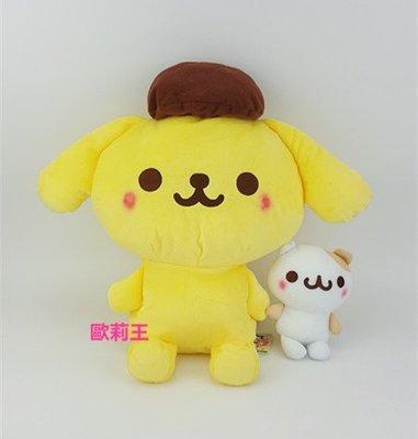 正版 日本景品 SEGA 三麗鷗 布丁狗與好朋友 倉鼠 Muffin 瑪芬 絨毛娃娃 玩偶 生日禮物 畢業禮物 歐莉王