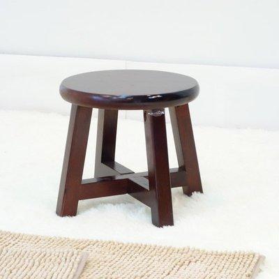 生活大發現-圓低古椅/復古椅/圓矮凳/...
