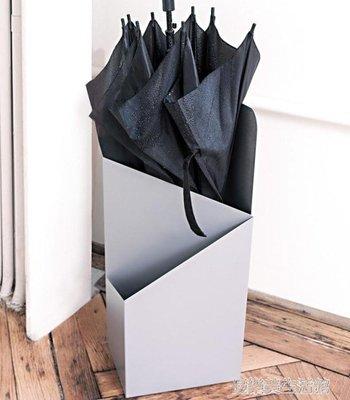 創意雨傘架酒店 大堂家用鐵藝傘筒雨傘桶收納桶落地式放傘架子 YDL