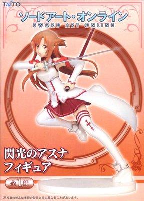 日本正版 景品 TAITO 刀劍神域 SAO 閃光的亞絲娜 模型 公仔 日本代購