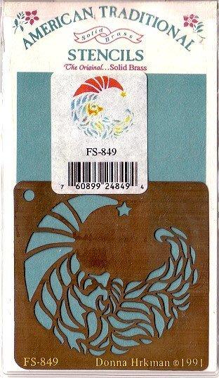 陽光一品DIY卡片印章專賣店~~銅片特價~月亮-#FS-849#~美國製絕版品