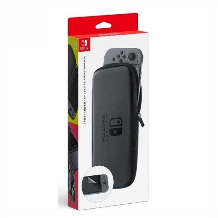 泥鼠※Switch 配件※Nintendo Switch 主機攜行包 黑(全新)