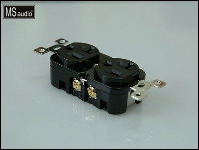 MS audio 高階Hi-End音響級.液態氮超冷處理..頂級鍍銠電源插座