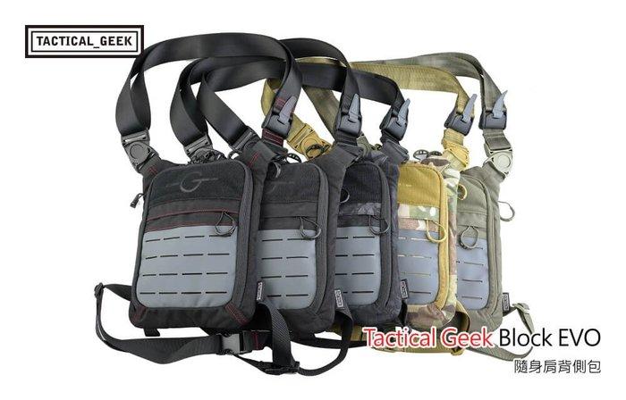【angel 精品館 】Tactical Geek Block EVO 隨身肩背側包 / 單色販售