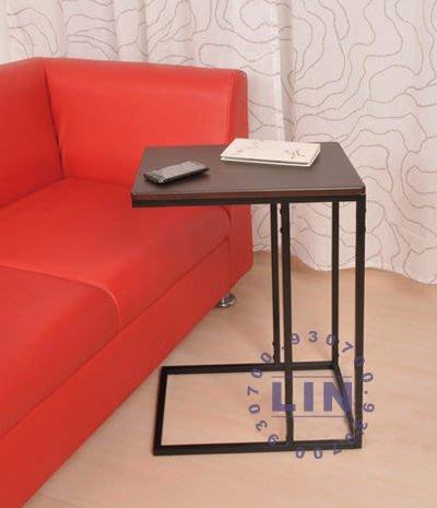 【品特優家具倉儲】B501-06電腦桌匠本休閒邊桌咖啡色