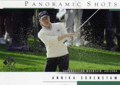 曾雅妮 索倫斯坦 裙擺搖搖 LPGA Annika Sorenstam 2005 GOLF #41 僅此一張