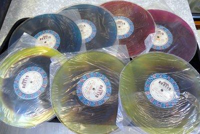 收藏品..膠唱片一套共7張..