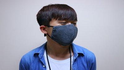 陽光多功能環保口罩-深色素面加大款(布口罩、口罩套、公益商品)