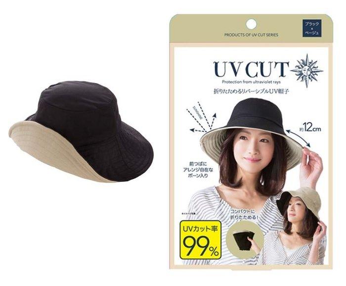 【寶寶王國】日本 COOL 可折疊抗UV防曬帽 遮陽帽