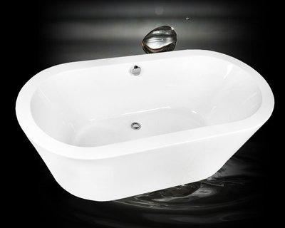 秋雲雅居~J1系列(150x80x56cm)無接縫獨立浴缸/古典浴缸/泡澡浴缸/壓克力浴缸 放置即可泡澡免安裝!!