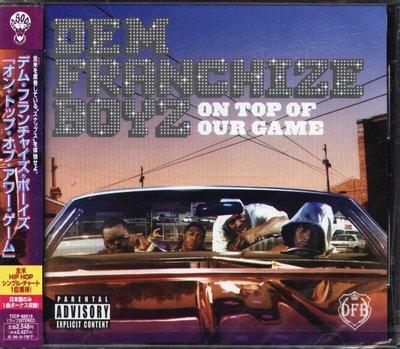 K - Dem Franchize Boyz On Top Of Our Game - 日版 +1BONUS - NEW