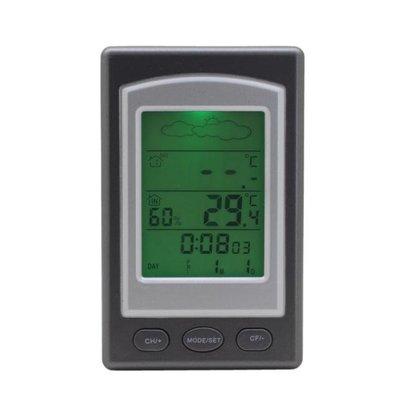 離式室內外溫度計 室內溫度計 室外溫度計 分離式溫度計 天氣預報 無線感測器