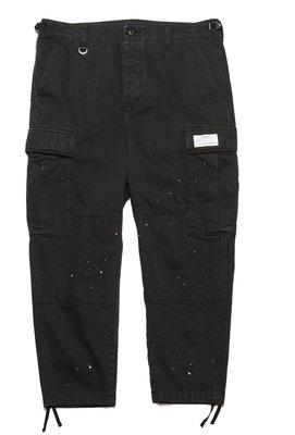 uniform experiment DRIPPING CARGO PANTS 潑漆工作褲。太陽選物社