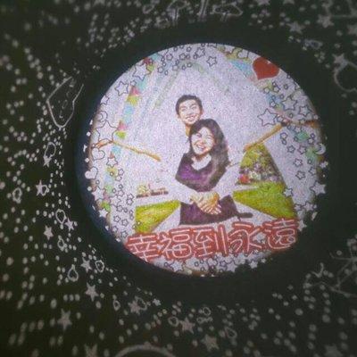 聖誕節禮物 生日禮物 可當天發 情人節禮物 超亮訂製投影燈 旋轉 五色 投影照片 求婚 告白 生日 物 周年紀念 送孩子