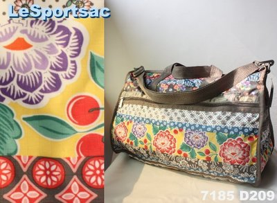 【LeSportsac】100% 全新正品 7185 D209 / JAMBOREE 大型 旅行袋*附收納袋*NEW