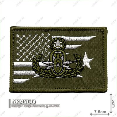【ARMYGO】美軍 拆彈小組 部隊章 (綠色版)