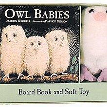 *小P書樂園* Owl Babies: Book and Toy Gift Set [禮盒組]