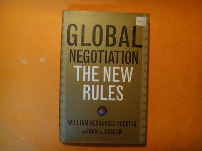 【愛悅二手書坊 18-55】Global Negotiation: The New Rules