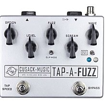 Cusack Music Tap A Fuzz