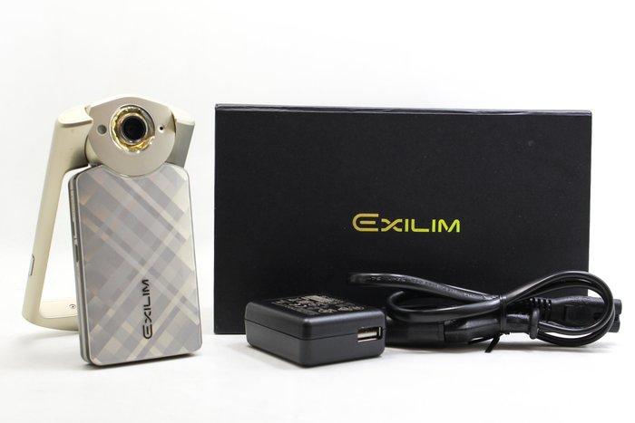 【台南橙市3C】Casio TR-50 TR50金 美顏相機 自拍神器 二手TR #22833