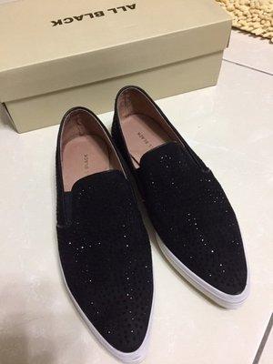 近全新轉賣專櫃ALL BLACK真皮舒適休閒鞋,旺來SENSE 1991ㄚ蠻IN JP SLY MOUSSY DOORS