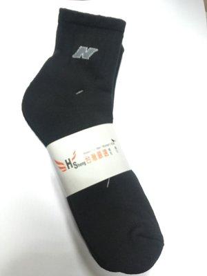【3雙】S-SOCKs-男用氣墊襪-運動襪-毛巾材質N字型-棉質中長襪/短襪/棉襪/男襪/學生襪/運動襪/女襪/休閒襪