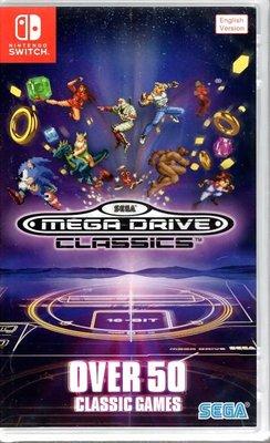 【全新未拆】任天堂 SWITCH NS SEGA經典遊戲合輯 51款遊戲 MEGA DRIVE CLASSICS 英文版