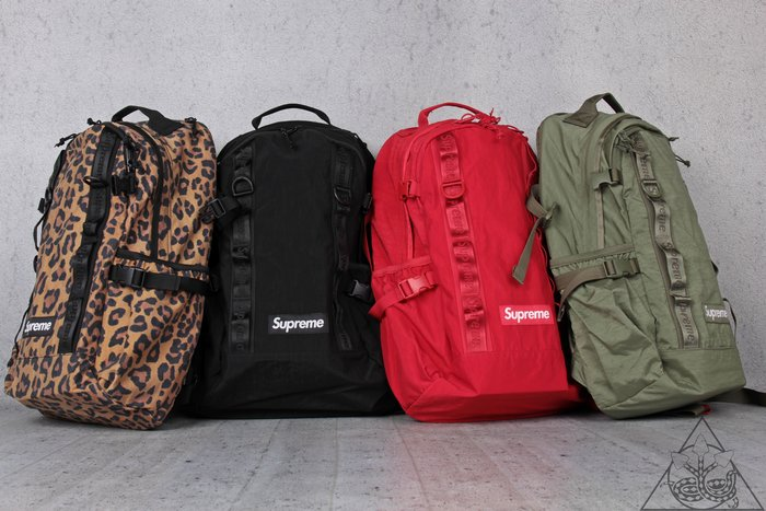 【HYDRA】Supreme 49Th Backpack 豹紋 反光 後背包【SUP448】