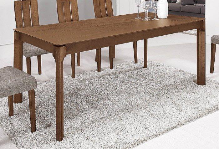 【DH】貨號G941-2商品名稱《達耶》6尺餐桌(圖一)餐椅另計。質感一流˙簡約設計˙主要地區免運