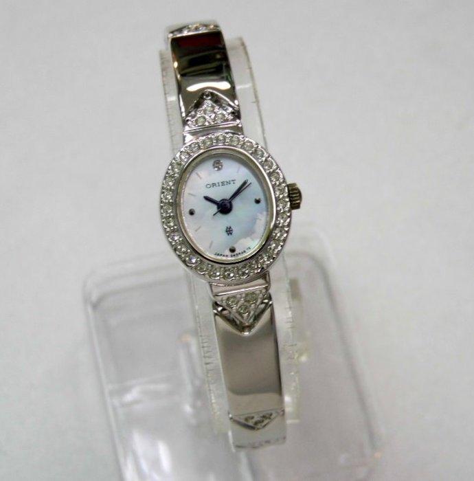 【 幸福媽咪 】網路購物、門市服務 ORIENT 東方錶 全新原廠公司貨 石英女錶 型號:HM5R48WS