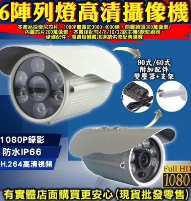 雲蓁小屋【60132/3-166 60/90式6陣列燈監視器】主機 監視器 錄影機 IP數位 攝影機 錄像機 攝像頭