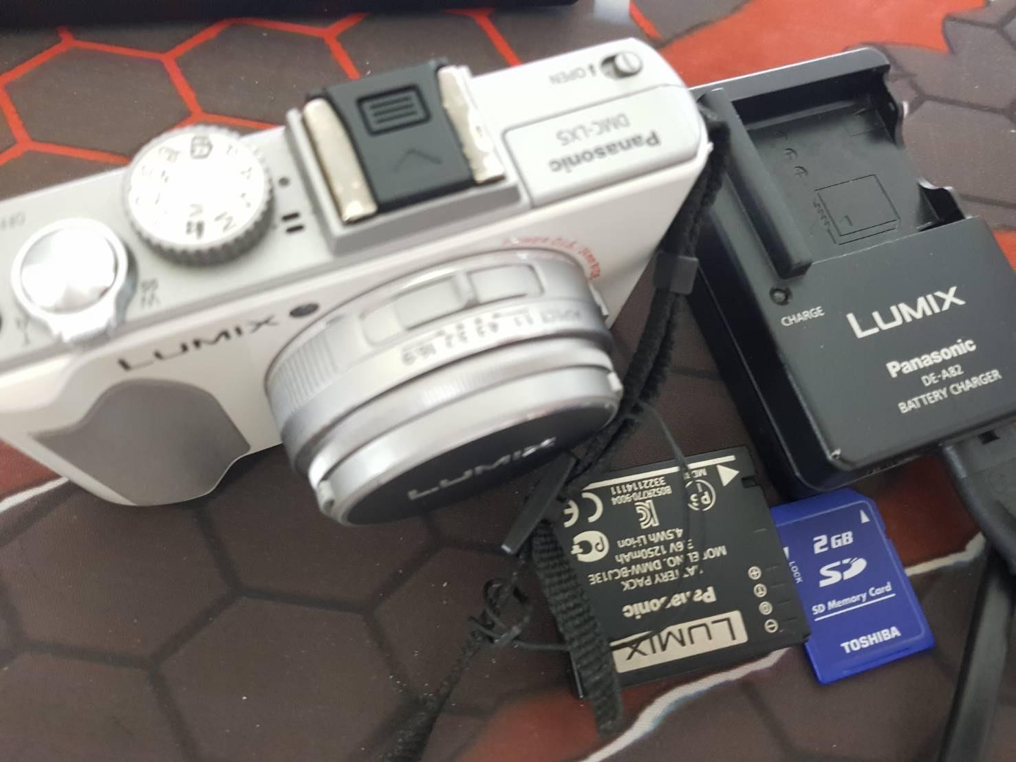二手 Panasonic LX5 數位相機 取代lx3 lx7 a100 thmdhmdfh