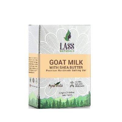 印度 Lass 草本山羊奶乳油木果手工精油香皂 125g 【V745673】PQ 美妝