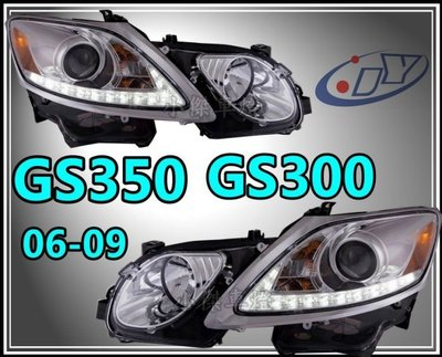 》傑暘國際車身部品《 新 LEXUS GS350 GS300 06 07 09 類RX450 R8 燈眉魚眼 大燈