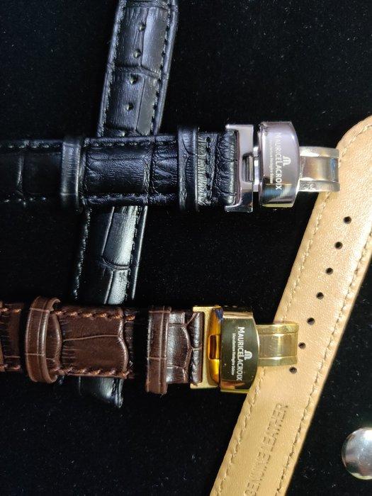 廠牌手錶完全替代真皮面錶帶(艾美Maurice Lacroix可參考)