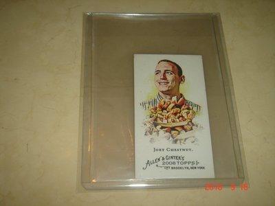 大胃王 Joey Chestnut  2008 Topps Allen & Ginter Mini版 #109  球員卡