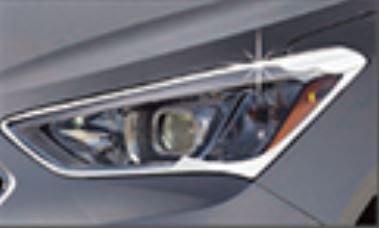 DJD19061535 TOYOTA 豐田 2014+ VIOS 鍍烙 大燈飾框 燈框