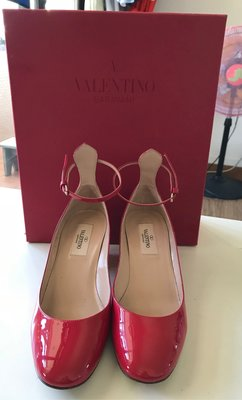 Valentino Garavani Tango patent leather pumps 高跟鞋 鉚釘