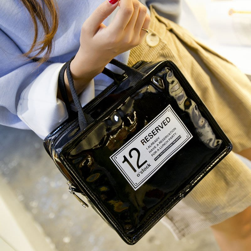 RESERVED時尚簡約手提保溫便當袋野餐保冰保冷袋保鮮袋